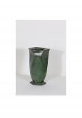 Vase en bronze patiné par Jean Dunand, vers 1920