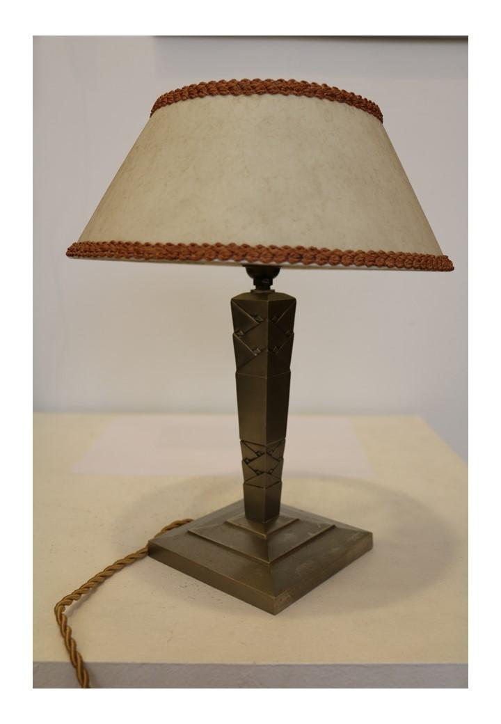 Edgar Brandt Lampe De Table Avant Garde Gallery