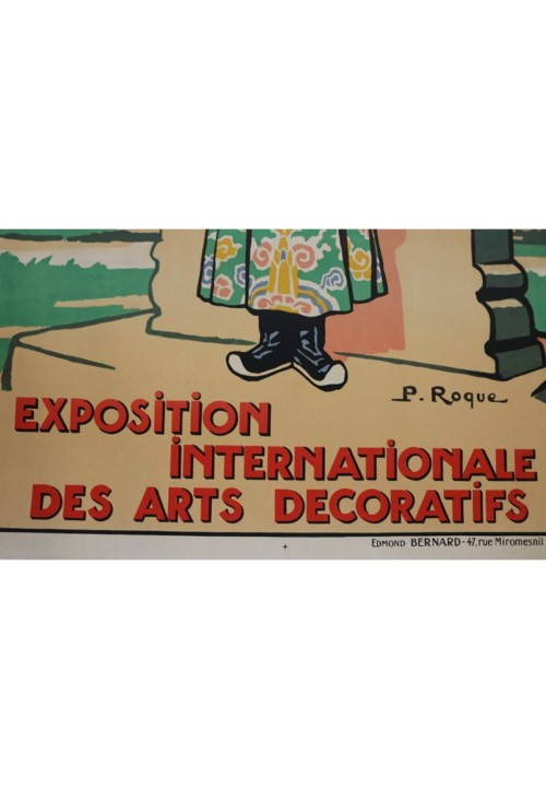 P. Roque — Exposition Internationale des Arts Décoratifs