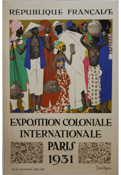 Jean de la Mézière — Exposition Coloniale Internationale de Paris