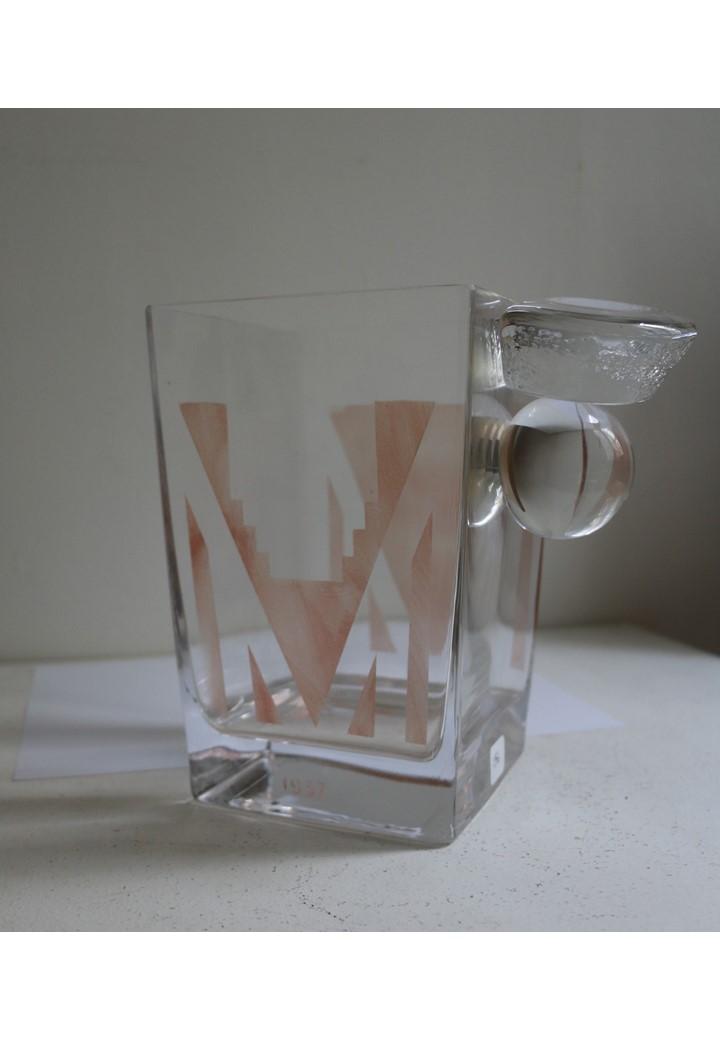 A. Riecke, Vase Art-Déco